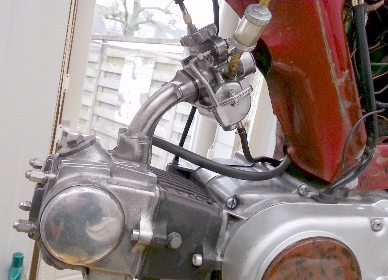 Honda Bromfietsen Mopeds Honda Cd50 H 1972