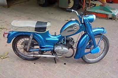 Zundapp Bromfietsen Mopeds C50 Super 441 01
